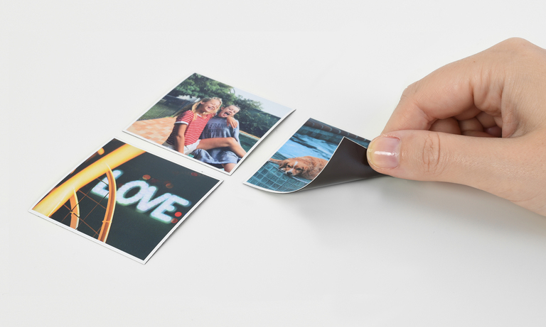 magnet photo carre