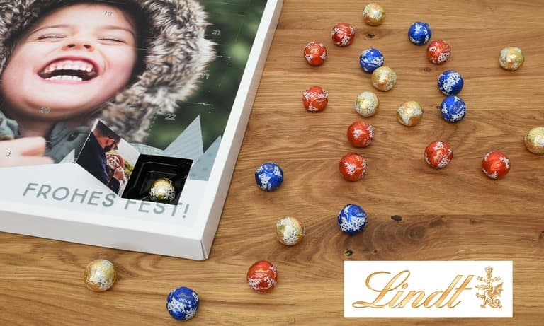 Adventskalender Lindt LINDOR-MINI