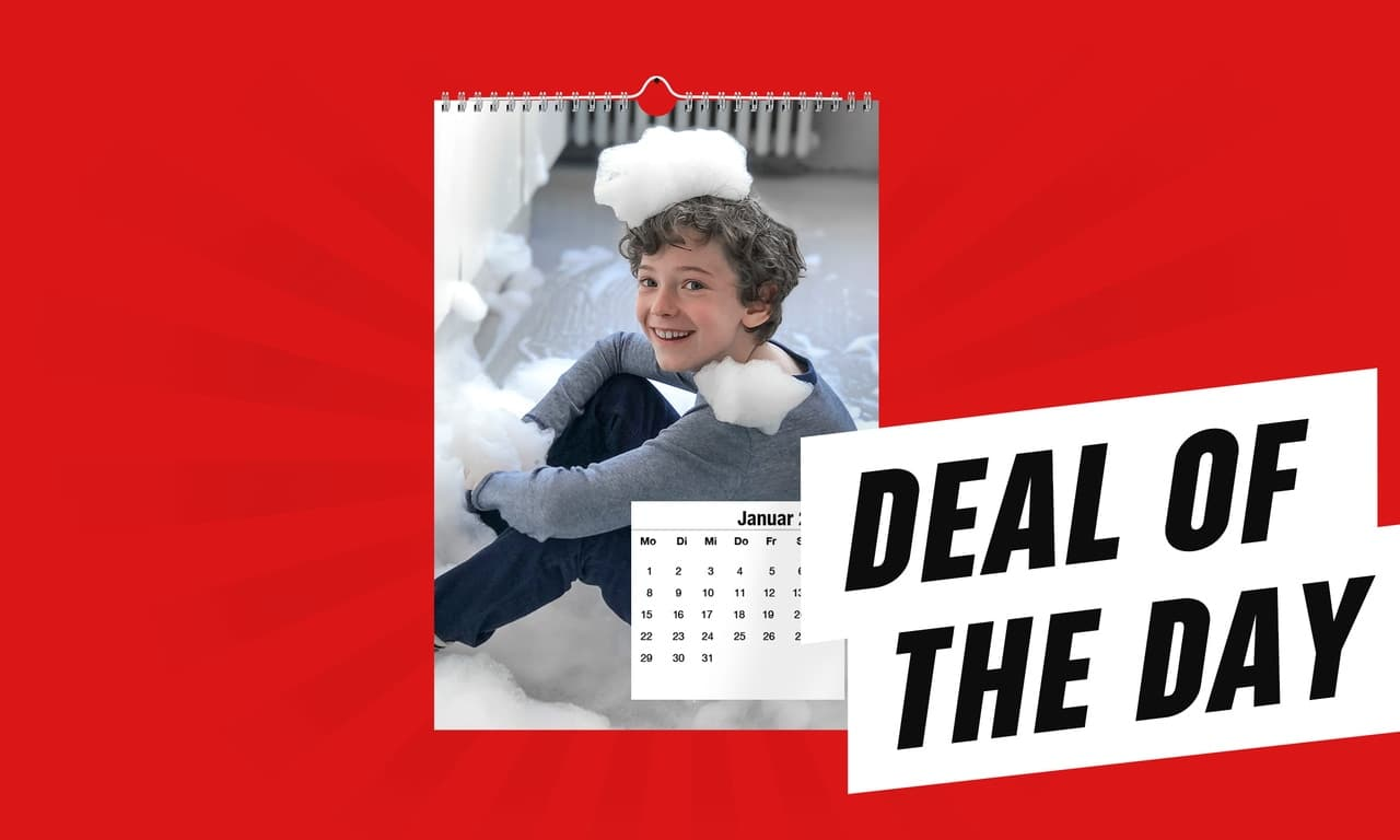 Deal of the Day Fotokalender